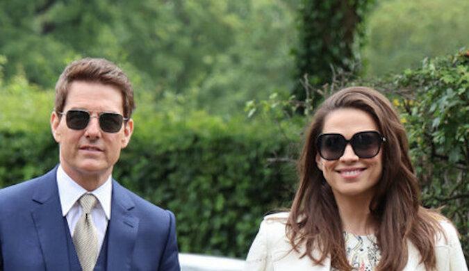Tom Cruise po raz pierwszy pojawił się ze swoją nową partnerką