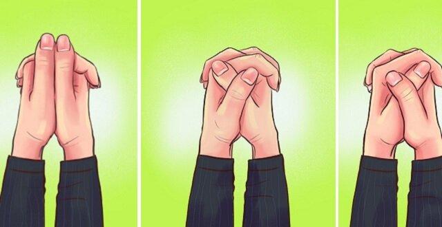Typ twojej osobowości według tego w jaki sposób krzyżujesz palce