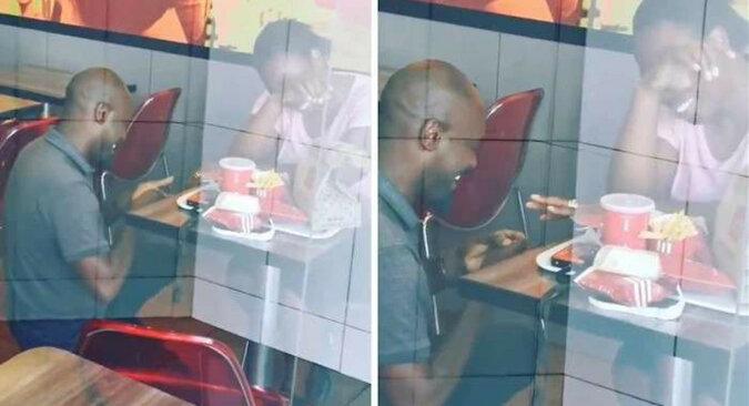 Mężczyzna był wyśmiewany w mediach za to, że się oświadczył dziewczynie w KFC