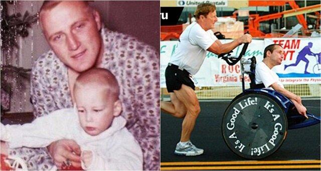 Historia prawdziwej miłości ojcowskiej: zrobił wszystko, aby jego syn był szczęśliwy