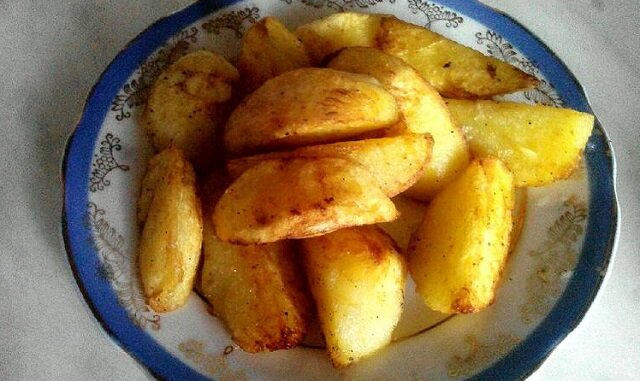 Smażone ziemniaki mojej babci. Pycha