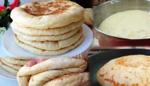 Przepis na przygotowanie bazlamy – lekkich oraz przewiewnych chlebków tureckich