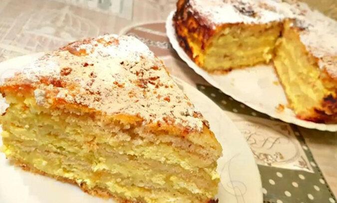 """Niesamowite ciasto twarogowe """"Praga"""". Prosty i bardzo niezawodny przepis"""