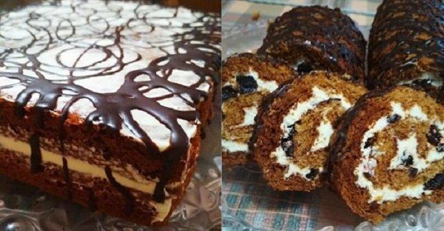 Ciasto miodowe ze śliwką. Palce lizać