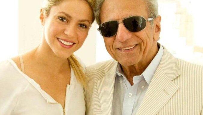 44-letnia Shakira tańczyła ze swoim 90-letnim ojcem w jego urodziny. Wideo