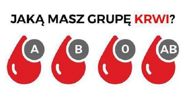 Grupa krwi ma związek z Twoim charakterem. Jej wpływ jest bardzo zauważalny