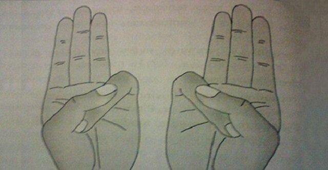 Ułóż dłonie w taki sposób. Zobacz co dzięki temu uzyskasz