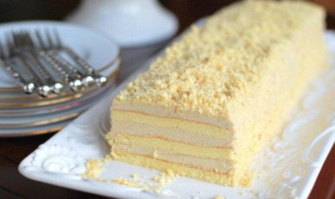 Tort z niesamowicie pysznym kremem. Pycha