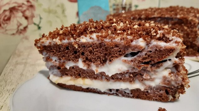 Ciasto czekoladowe. Robię ten deser z kefiru