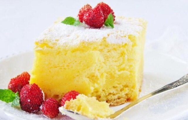 Sernik z jogurtów greckich. Ciasto bardzo smaczne