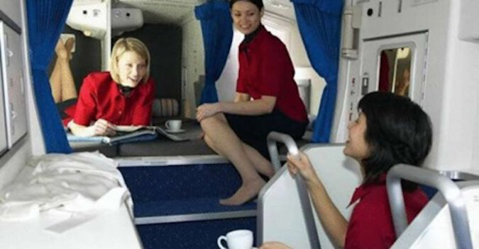 Sekretny pokój w pasażerskich Boeingach