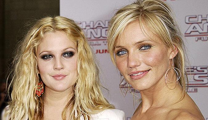 """W Internecie podziwiają nowe zdjęcie Drew Barrymore i Cameron Diaz: """"Bez filtrów, bez wypełniaczy"""""""