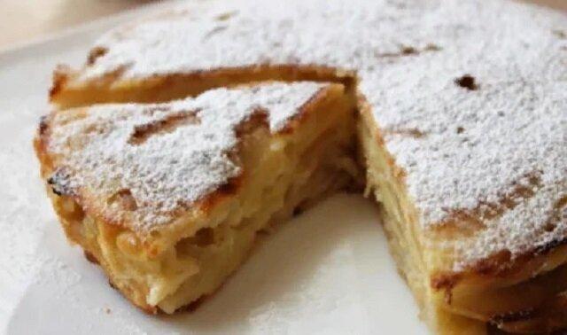 Puszyste ciasto jabłkowe - ulubiony przepis