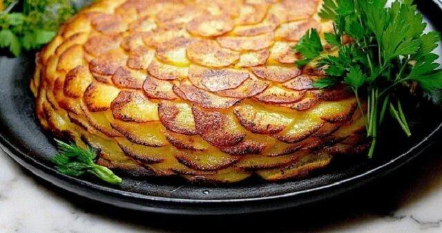 """Najlepsze ziemniaki - przepis """"Boulangere"""" . Pycha"""