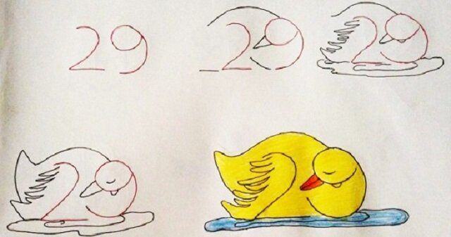 Rysujemy zwierzęta za pomocą liczb. Gwarantowana zabawa dla dziecka lub wnuczka na długi czas