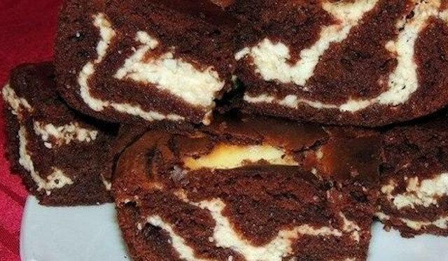 Ciasto czekoladowo-twarogowe - niesamowity deser bez kłopotów