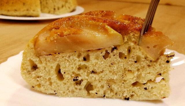 Przepis na ciasto jabłkowe na patelni