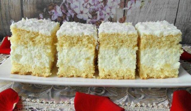 Rafaello. Pyszne i łatwe ciasto