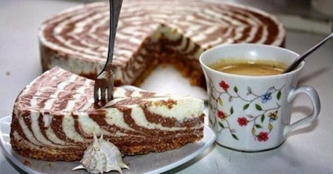 Tort twarogowy bez pieczenia. Delikatny, smaczny i aromatyczny