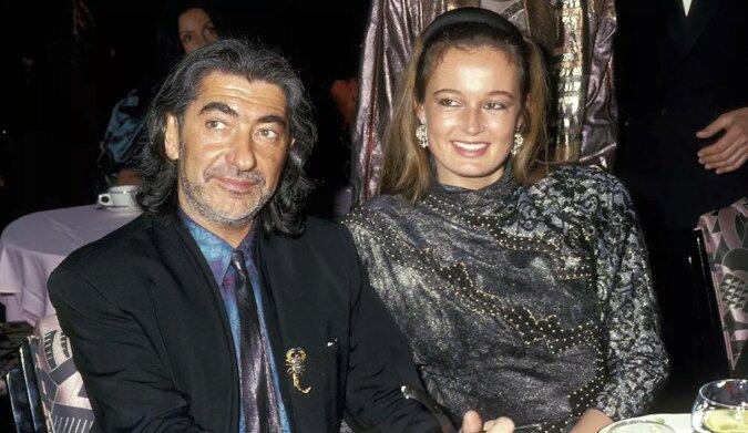 Roberto Cavalli i jego żona Eva, światowej sławy piękność