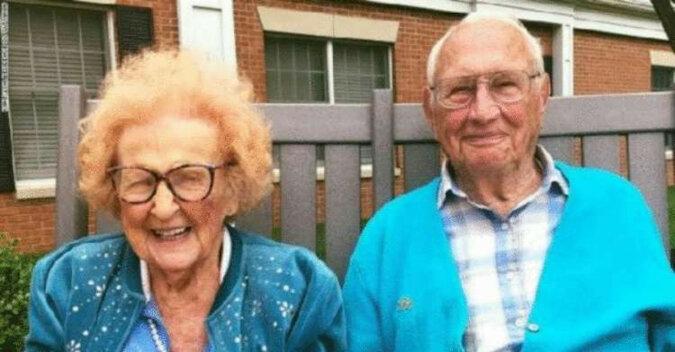 Najbardziej niezwykła para: pobrali się w wieku 100 i 103 lat