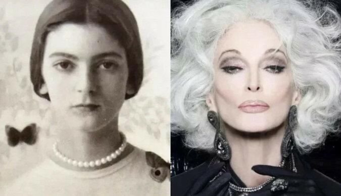 """W wieku 89 lat Carmen Dell'Orefice marzy o życiu do 100 lat i """"wkroczeniu w inny świat na obcasach"""""""