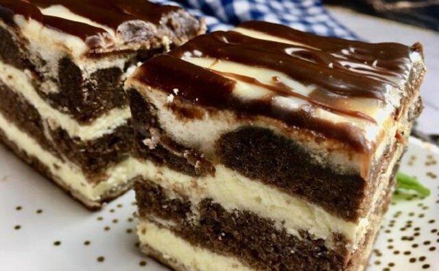 Łaciate - ciasto, które warte upieczenia. Jest bardzo smaczne a i przy okazji prezentacyjne