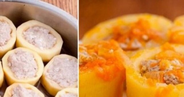 Ziemniaki faszerowane na obiad. Od dziś będziesz gotowować to danie każdego dnia