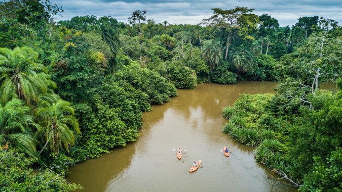 Głębokość tej rzeki przekroczyła tysiąc metrów