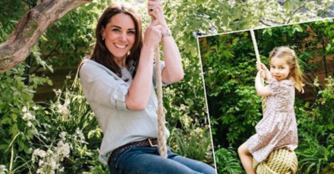 Kopia mamy: nowe wideo z Kate Middleton udowodniło, że księżniczka Charlotte powtarza za nią wszystko