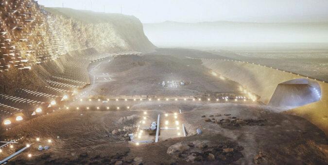 Jakie będzie pierwsze miasto na Marsie: architekci pokazali plan marsjańskiej metropolii. Wideo