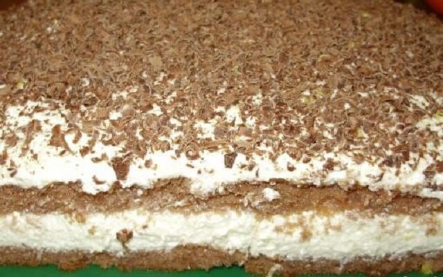"""Ciasto """"Dzidziuś"""". Ciasto jest idealne dla osób nie przepadających za słodkościami"""