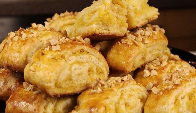 Delikatne i aromatyczne ciasteczka z pomarańczowym nadzieniem