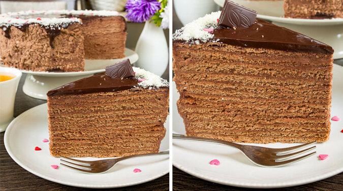Najsmaczniejsze ciasto miodowo-czekoladowe. Pycha