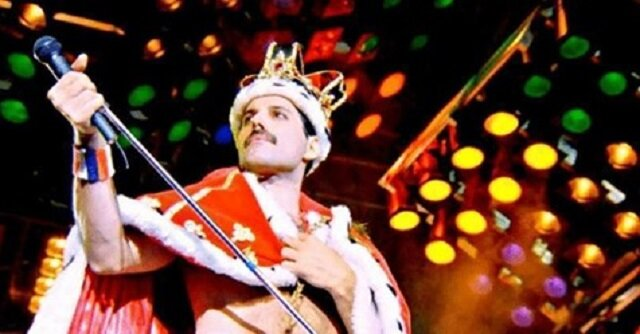 Legendarne obrazy sceniczne Freddiego Mercury'ego