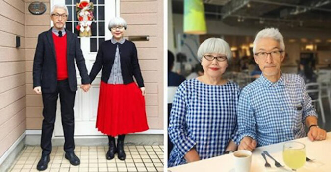 Japońska para ubiera się w tym samym stylu od 37 lat