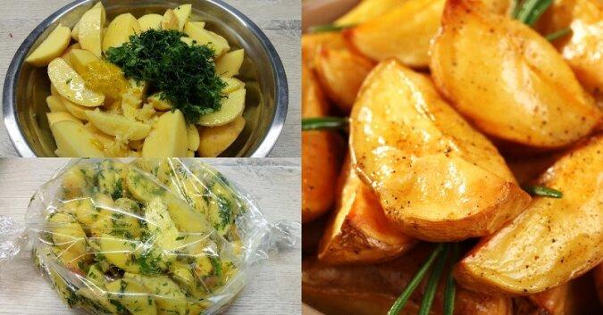 Przepis na ziemniaki zapiekane w rękawie. Okazują się niesamowicie pyszne i pachnące