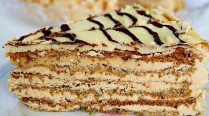 Przepis na delikatny tort Esterhazy. Pycha