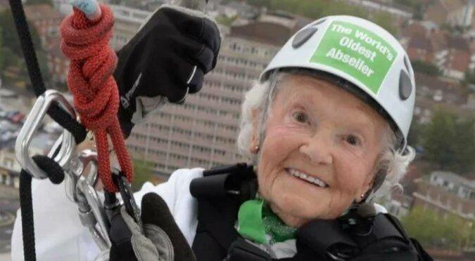 Historia Doris Long, która w wieku 100 lat podbiła drapacze chmur