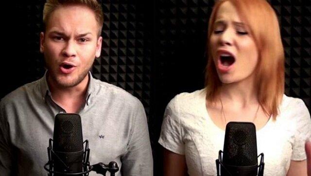"""Zaśpiewali """"Dumkę na dwa serca"""". Takiego wykonania jeszcze nie słyszeliśmy"""