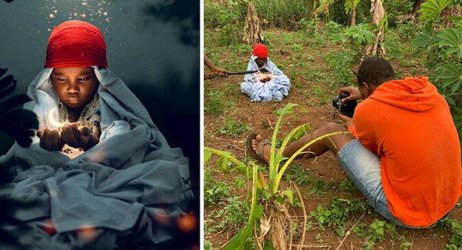 Magiczne zdjęcia fotografa z Nigerii i niesamowita odsłona ich stworzenia