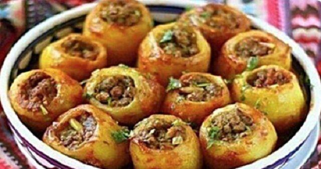 Nadziewane, pieczone ziemniaki. Mąż nie daje mi spokoju, robię je ostatnio codziennie. Są obłędne