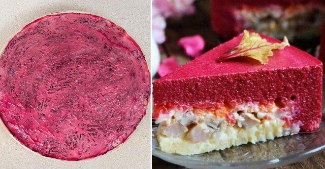 Instrukcja przygotowania śledziowego cheesecake'a. Moja rodzina to uwielbia