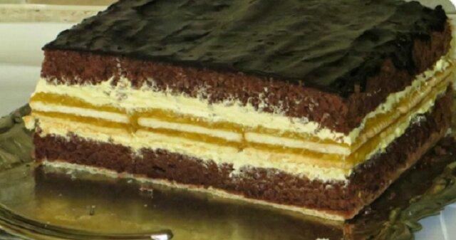 Świąteczne ciasto przekładaniec: czekolada – jabłko – wanilia. Sprawdzony przepis