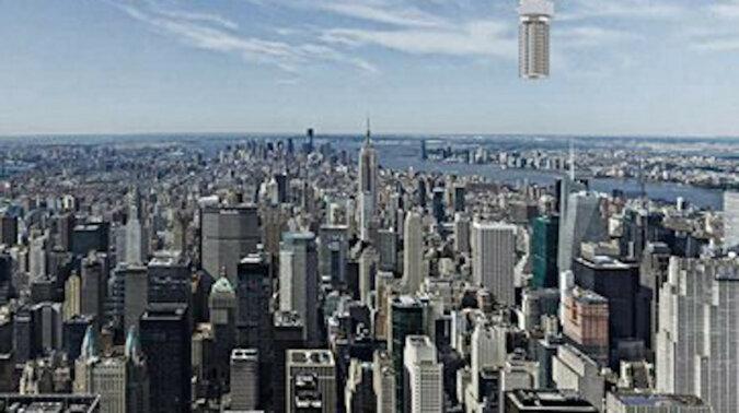 Wieża zwisająca z nieba: najśmielszy projekt architektoniczny