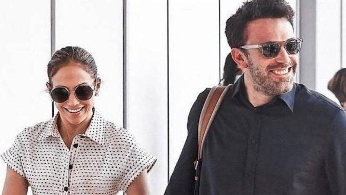 Ben Affleck ratuje Jennifer Lopez przed atakiem fana. Sukienka Dior nie została nawet tknięta