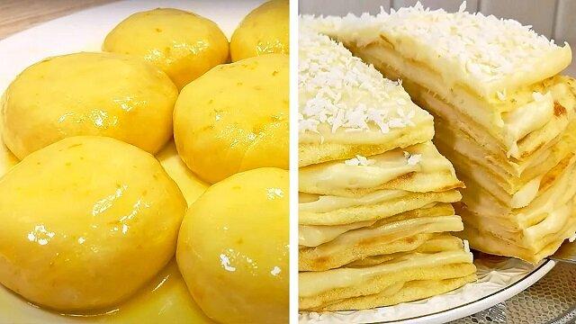 """Tort """"Niezwykły Kutuzow"""" - bez piekarnika, bez wałka do ciasta, bez naleśników"""