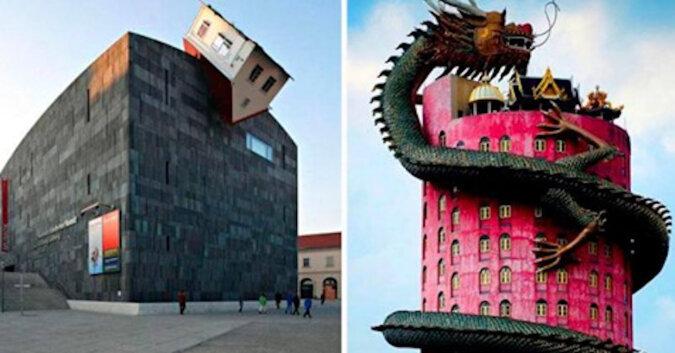 Dziwne i nietypowe domy i budynki na całym świecie