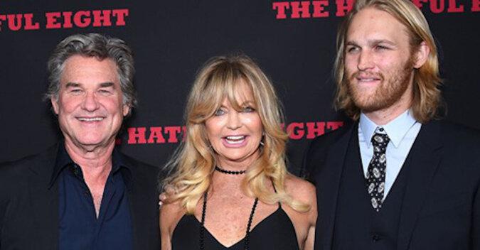 Hollywoodzkie geny trzeciego pokolenia: Goldie Hawn i Kurt Russell zostali dziadkami
