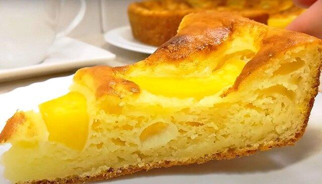 """Twarogowe ciasto """"Smakołyk"""". Pycha"""